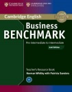 Business Benchmark Pre-intermediate to Intermediate BULATS and Business Preliminary Teacher's Resource Book