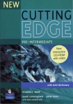 New Cutting Edge Pre-Intermediate Students Book and CD-ROM Pack