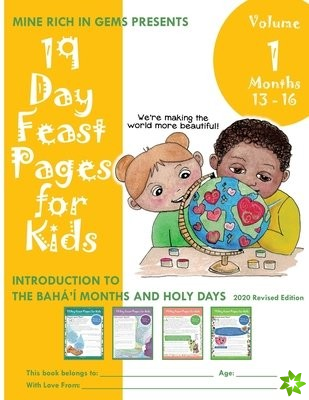 19 Day Feast Pages for Kids Volume 1 - Months 13 - 16