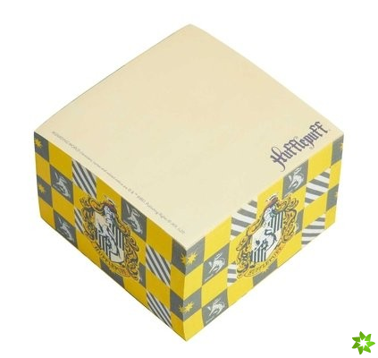 Harry Potter: Hufflepuff Memo Cube