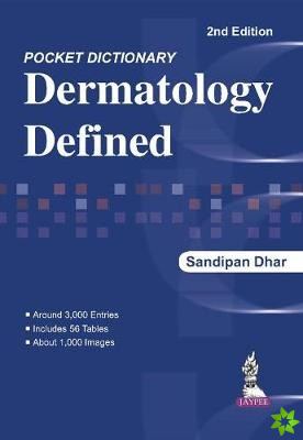Pocket Dictionary Dermatology Defined