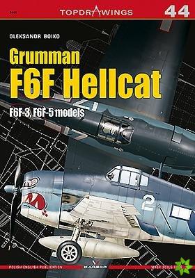 Grumman F6F Hellcat F6F-3, F6F-5 models