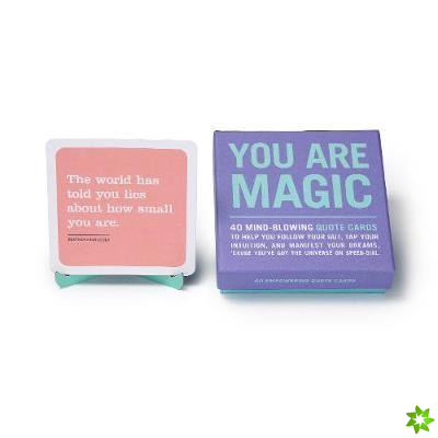 Knock Knock You Are Magic Inner-Truth Deck