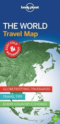 Lonely Planet the World Travel Map