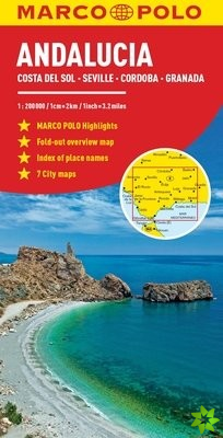 Andalucia Marco Polo Map
