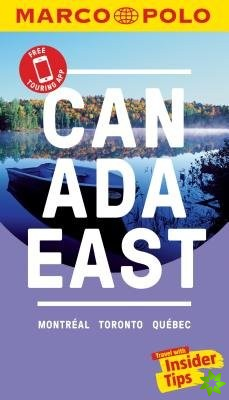 Canada East Marco Polo Pocket Travel Guide 2018 - with pull out map