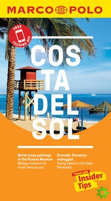 Costa del Sol Marco Polo Pocket Guide - with pull out map