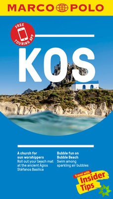 Kos Marco Polo Pocket Travel Guide - with pull out map