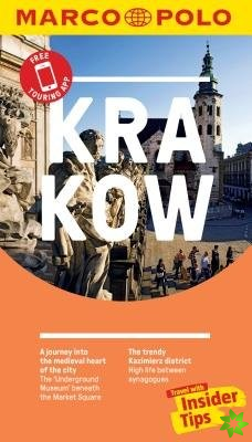 Krakow Marco Polo Pocket Travel Guide 2019 - with pull out map