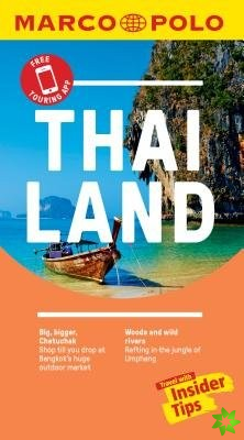 Thailand Marco Polo Pocket Travel Guide 2019 - with pull out map