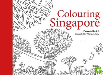 Colouring Singapore Postcard