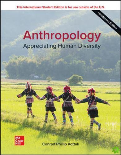 ISE Anthropology: Appreciating Human Diversity