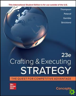 ISE Crafting and Executing Strategy: Concepts