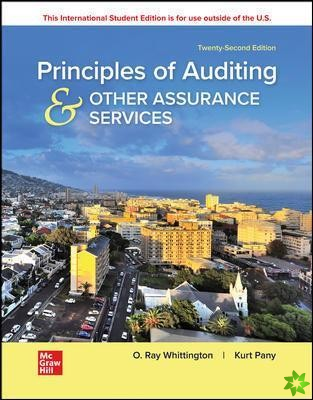 ISE Principles of Auditing & Other Assurance Services