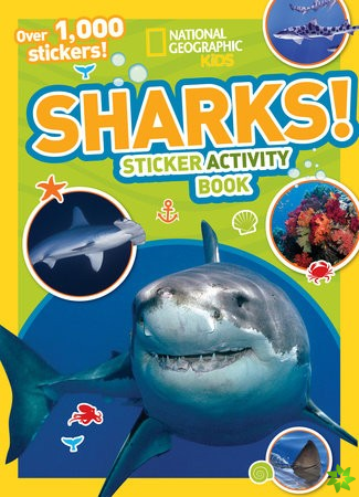 National Geographic Kids Sharks Sticker Activity Book