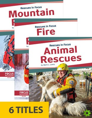 Rescues in Focus (Set of 6)