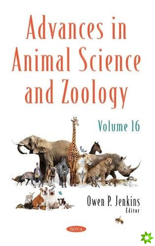 Advances in Animal Science and Zoology. Volume 16