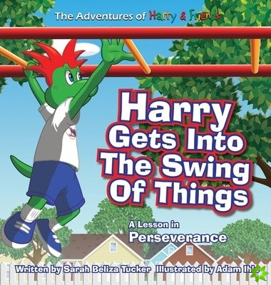 Harry Gets Into The Swing Of Things