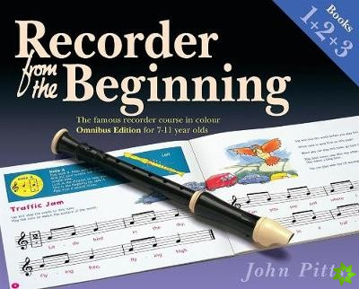 RECORDER FROM THE BEGINNING BOOK 1 2 & 3