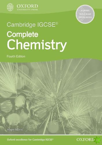 Cambridge IGCSE (R) & O Level Complete Chemistry: Workbook Fourth Edition