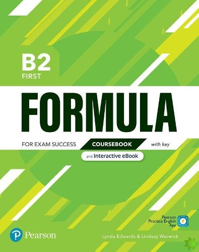 Formula B2 First Coursebook and Interactive eBook with Key with Digital Resources & App