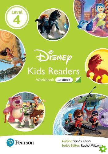 Level 4: Disney Kids Readers Workbook