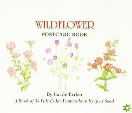 Wildflower Postcard Book