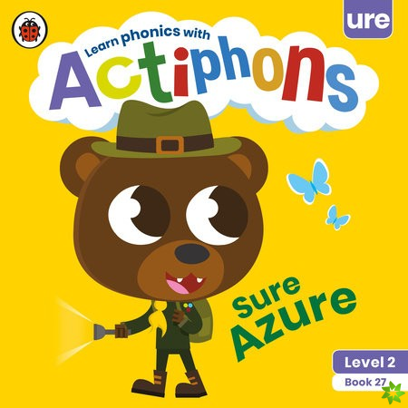 Actiphons Level 2 Book 27 Sure Azure