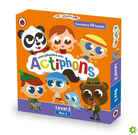 Actiphons Level 2 Box 3: Books 19-28