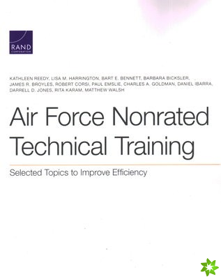 Air Force Nonrated Technical Training