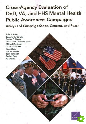 Cross-Agency Evaluation of DoD, VA, and HHS Mental Health Public Awareness Campaign