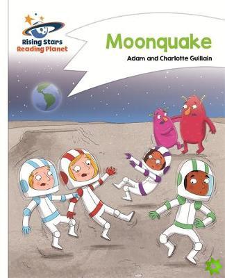 Reading Planet - Moonquake - White: Comet Street Kids