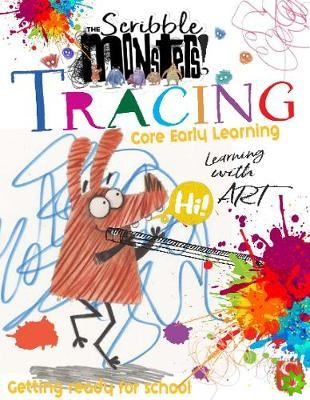 Scribble Monsters Tracing Activity Book