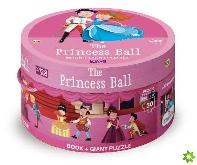 PRINCESS BALL BOOK AND GIANT PUZZLE