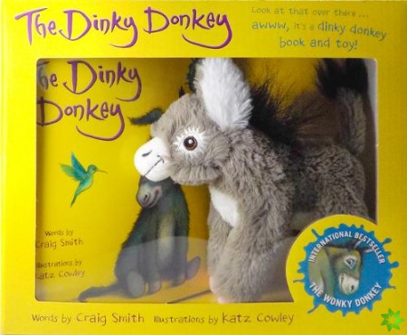 Dinky Donkey Book and Toy