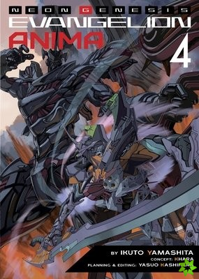 Neon Genesis Evangelion: ANIMA (Light Novel) Vol. 4