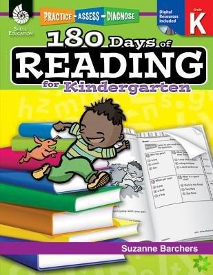 180 Days of Reading for Kindergarten