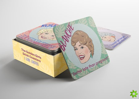 Golden Girls Drink Coasters