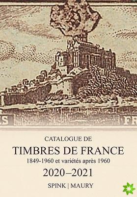Spink Maury Catalogue de Timbres de France 2020