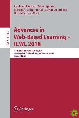 Advances in Web-Based Learning - ICWL 2018