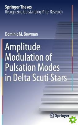 Amplitude Modulation of Pulsation Modes in Delta Scuti Stars