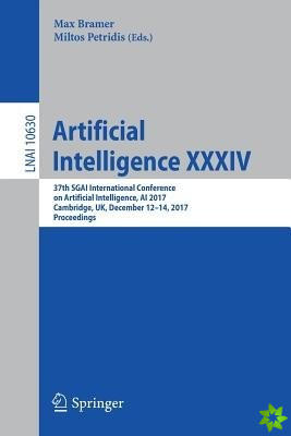Artificial Intelligence XXXIV