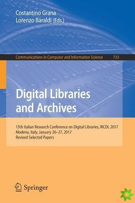 Digital Libraries and Archives