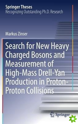 Search for New Heavy Charged Bosons and Measurement of High-Mass Drell-Yan Production in Proton-Proton Collisions