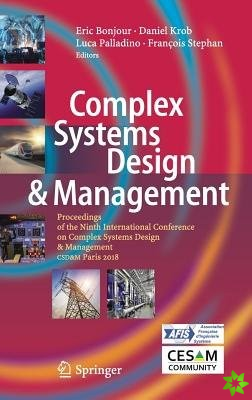 Complex Systems Design & Management