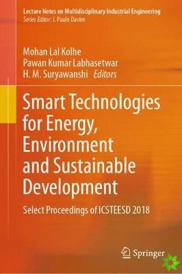 Smart Technologies for Energy, Environment and Sustainable Development
