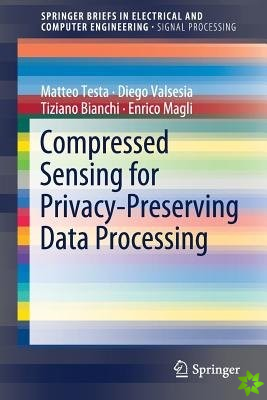 Compressed Sensing for Privacy-Preserving Data Processing