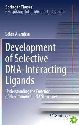 Development of Selective DNA-Interacting Ligands