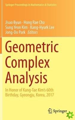 Geometric Complex Analysis