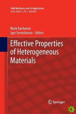 Effective Properties of Heterogeneous Materials